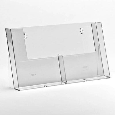 A5 2 bay side by side leaflet holder - Displaypro