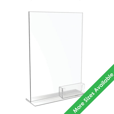 Acrylic Menu Holders & Business Card Holder - Displaypro