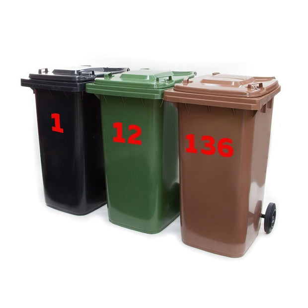 Bin Number Stickers - Displaypro