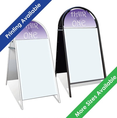 Booster Pavement Signs - Displaypro