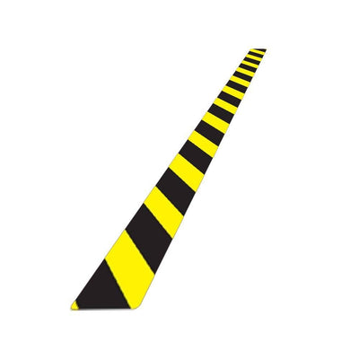Caution Hazard Warning Floor Vinyl Sticker Strips -Displaypro