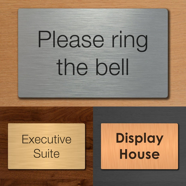 Custom Office Door Plaques - Dibond - Displaypro