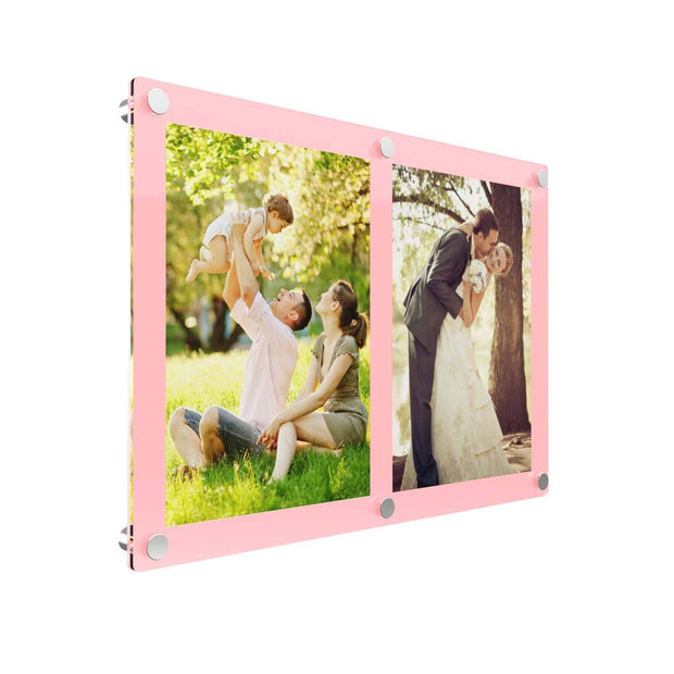Double Acrylic Photo Frames - Displaypro