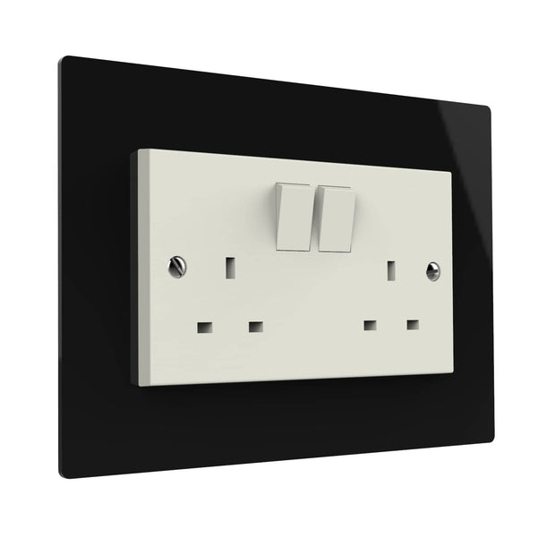 double acrylic switch surround- Displaypro