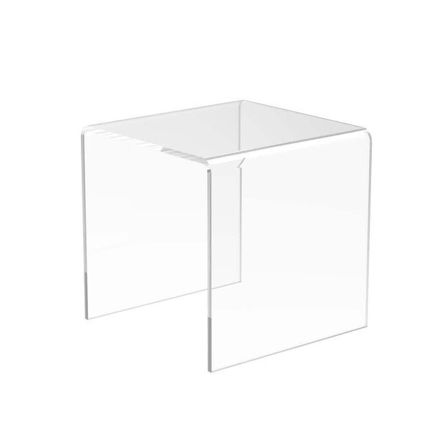DP1205 - Clear Acrylic Riser Display Stands - 9 Sizes Available - Displaypro