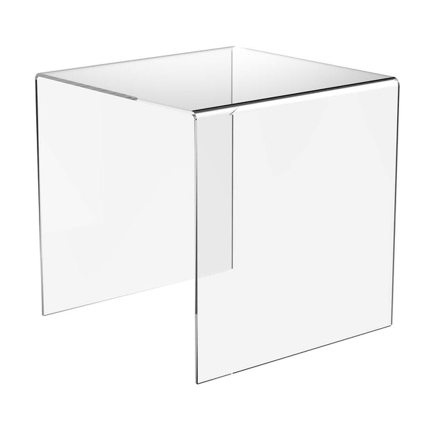 DP1211 - Clear Acrylic Riser Display Stands - 9 Sizes Available - Displaypro