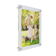 frosted white acrylic photo frames