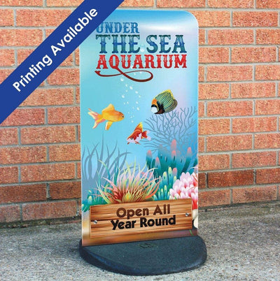 Ecoflex Lite Pavement Sign - Displaypro