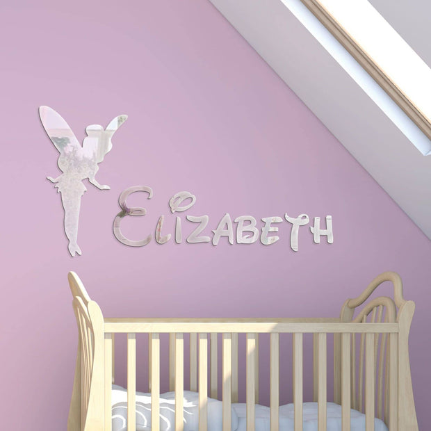 Fairy Acrylic Mirror & Childrens Name - Displaypro