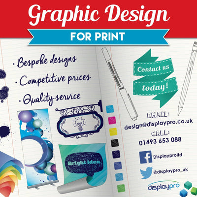 Graphic design for print - Displaypro