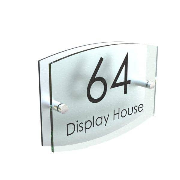 House Sign - Glass Effect - Kingston Range - Displaypro
