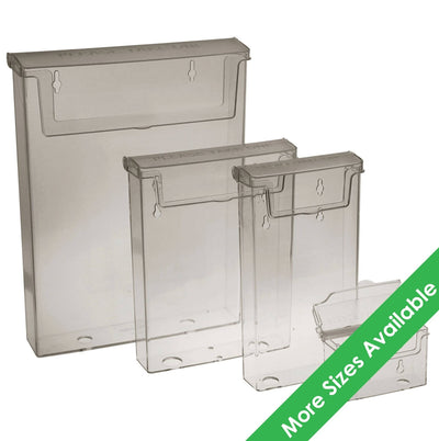 Injection Moulded Outdoor Leaflet Holders - Displaypro