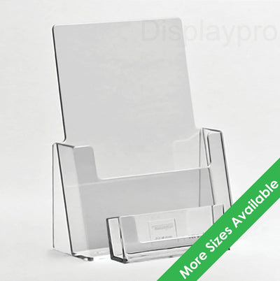 Leaflet Holders with Business Card Dispensers - Displaypro