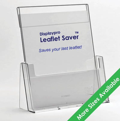 Leaflet Holders with Leaflet Saver - Displaypro