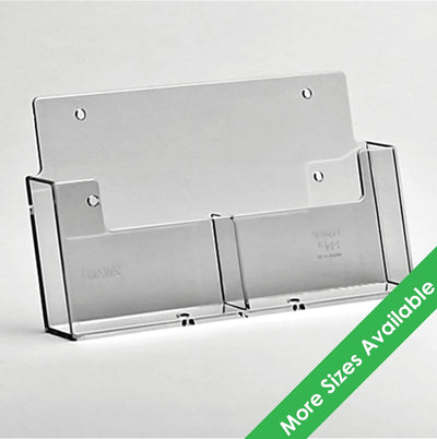 Multi Pocket Wall Mount Leaflet Holders - Displaypro