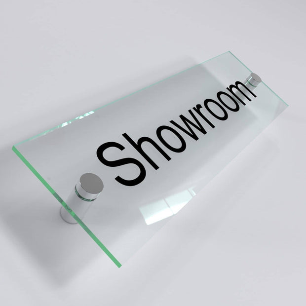 Office Door Plaques - Glass Effect Acrylic - Displaypro