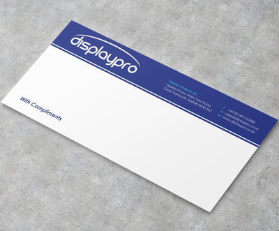 Printed Compliment Slips - Displaypro
