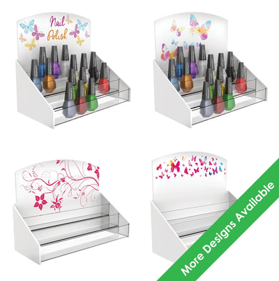 Printed Nail Polish Stands - Displaypro