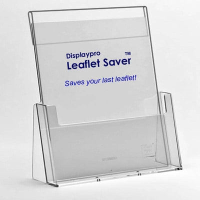 PVC A5 Leaflet Saver - Displaypro