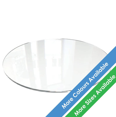 Round Acrylic Cake Boards - Displaypro