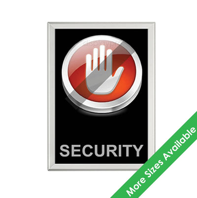 Security Snap Frames - Displaypro