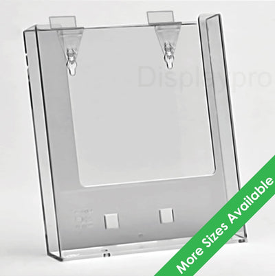 Slatwall Leaflet Holders - Displaypro