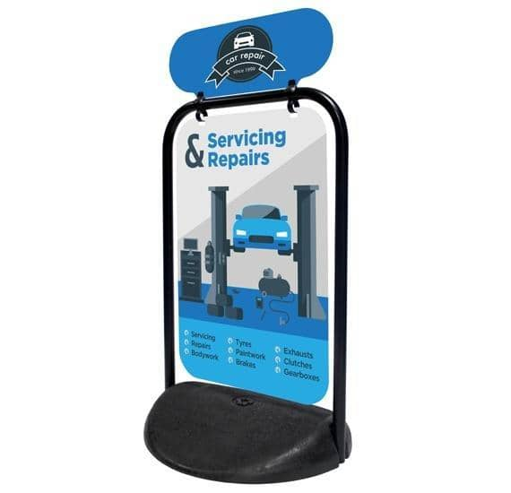 Swinger Pavement Sign - Panel - Displaypro