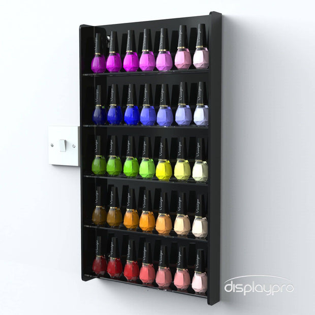 Wall Mounted Nail Polish Stands - Displaypro
