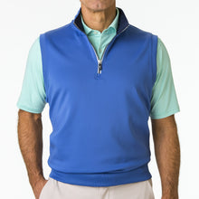 Caves Solid Quarter  Zip Vest - Fairway & Greene