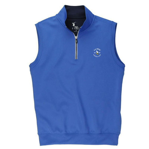 2020 U.S. Open Men's Caves Solid Quarter Zip Vest - Fairway & Greene