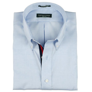 BLUE PINPOINT OXFORD VARSITY