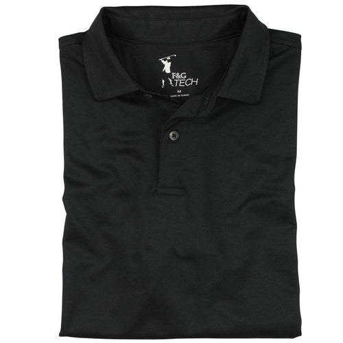 Solid Tech Pique Polo