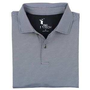 MINI STRIPE TECH JERSEY POLO