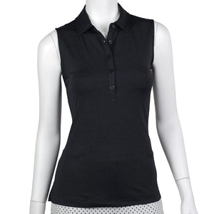 Natalie Sleeveless Tech Jersey Polo - Fairway & Greene