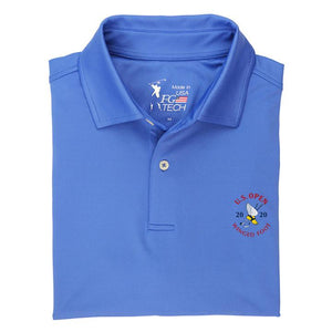 2020 U.S. Open Men's Solid Tech Polo - Fairway & Greene