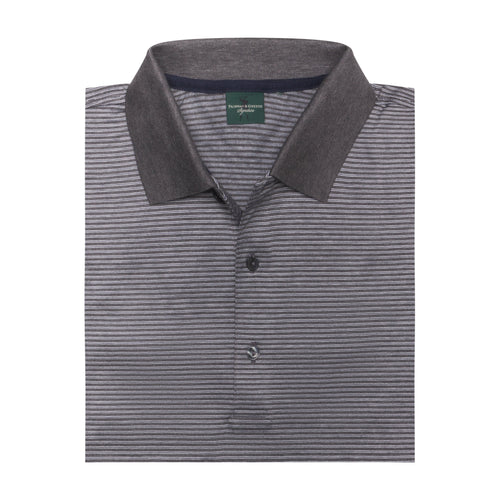Flagler Stripe Lisle Polo - Fairway & Greene