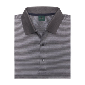 Flagler Stripe Lisle Polo