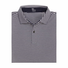 Thomas Stripe Natural Tech Polo