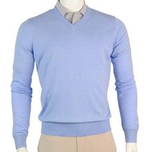 MCCALLAN BLEND V-NECK SWEATER