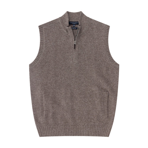 The CJ Vest 1/4 Zip - Fairway & Greene