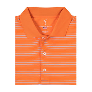 USA Strahan Stripe Polo - Fairway & Greene