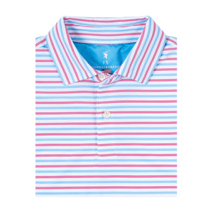 USA Morrow Stripe Jersey Polo