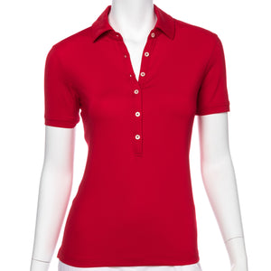 Sarah Made In The USA Jersey Polo