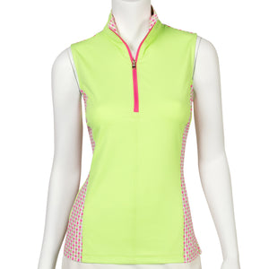 Aria Sleeveless Polo