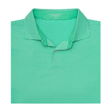 The Lombardi Stripe Natural Jersey Polo