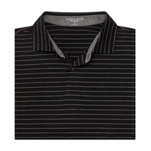The Madden Stripe Natural Jersey Polo