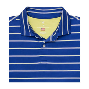 USA The Delano Stripe Jersey Polo