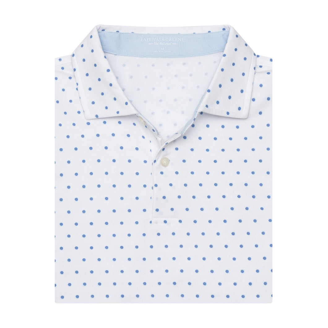 Turtle Hill Print Natural Jersey - Fairway & Greene