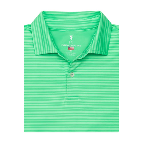 THE OPEN STRIPE POLO