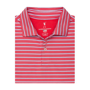 The Tilden Stripe Polo - Fairway & Greene